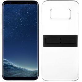huge discount e249d 512d9 Samsung Galaxy S8+ Dual Sim - 64GB, 4G LTE, Midnight Black with KickTOK  Cover, Black