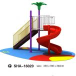 Kids Outdoor  Curl Slides  SHA-16020