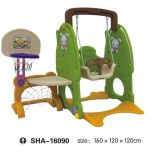 Colorful Swing with Basketball Net SHA-16090