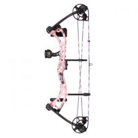 Bear Archery Youth Apprentice III RTH Compound Bow Package – AP Pink