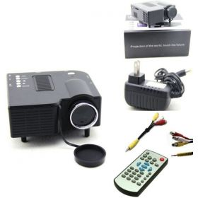 Portable HDMI Mini LED Projector Home Cinema Theater With AV VGA USB SD Compatibility 1080p