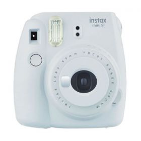 Fujifilm Instax mini 9 Instant Film Camera, Smoky White