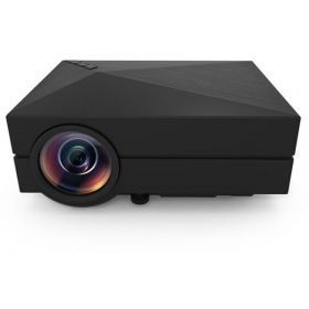 Etrends GM60 LCD Projector 1000LM 800x480 Pixels Portable 1080P Multimedia Player for Home Office