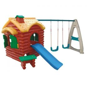 Kids Playhouse with Swing  and Slides