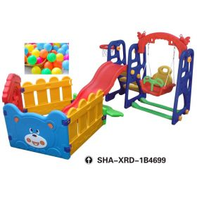 Swing & Slides to Plastic Ball Pools SHA-XRD-1B4699