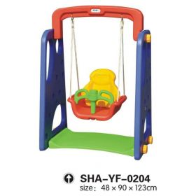 Colorful Swing Playset with Basketball Net SHA-YF-0204
