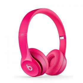 Beats Solo2 Wired On-Ear Headphone - Pink