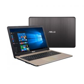 Asus X540SA-XX012T Laptop - Intel Celeron N3050, 15.6 Inch, 500GB, 2GB, Win 10, Chocolate Black, En-Ar Keyboard