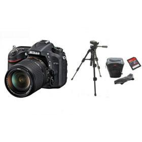 Nikon D7100 18-140mm Kit Lens + Tripod + DSLR Bag + 16GB SDHC Memory Card Bundle Kit