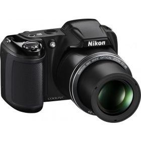 Nikon CoolPix L340 - 20.2 Megapixel, Point and Shoot Camera, Black