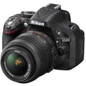 Nikon D5200 - 24.1 MP, SLR Camera, Black, 18 - 55mm Lens Kit