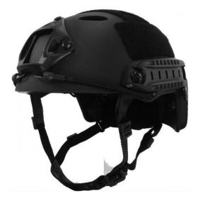 Military Tactical Paint Ball Protective Helmet Black
