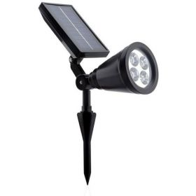 LED Solar Projector Outdoor Waterproof Spotlight Garden Garden Villa Lighting