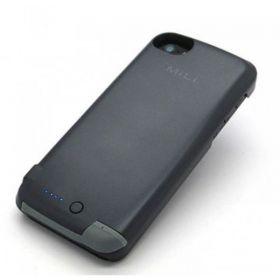 Mili HI-C25-GY 2200 mAh Power Spring 5 External Battery Case for iPhone 5 -Gray