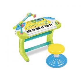 Weina Musical Lights Keyboard & Stool [2079]