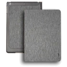 i-smile Folding Smart Leather Case Stand Slim shockproof Back Cover for For Apple iPad Pro12.9 Grey