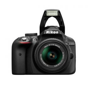 Nikon D3300 - 24.2 MP SLR Camera, Black, AF-P 18 - 55mm f/3.5 to 5.6 G VR Lens Kit