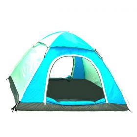 Camping Dome Tent, EXPLORER, Automatic Pop-up, Waterproof, UV-resistant Ultra Light, 4 Persons