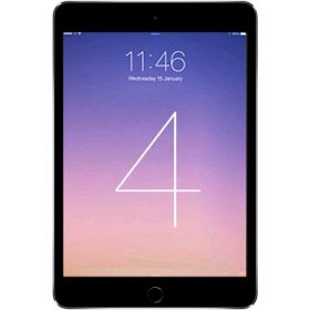 Apple iPad Mini 4 with Facetime Tablet - 7.9 Inch, 32GB, 4G LTE, Space Gray