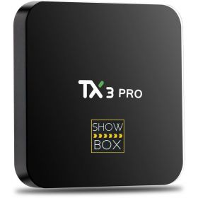 ShowBox HD, Android 6.0, Smart TV BOX TX3 PRO, Amlogic S905X, 1/8 GB, KODI 16.1 FULLY LOADED, WiFi, 3D