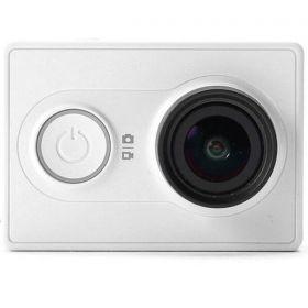 YI Action Camera, 16MP, HD, Sony Sensor - White ( International Version ) + YI Waterproof Case Bundle Kit