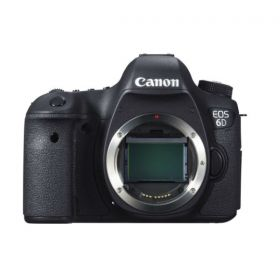 Canon EOS 6D Body Only (20.2 Megapixel, Digital SLR Camera, Black)