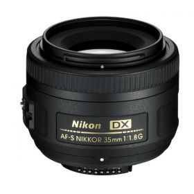 Nikon AF-S DX NIKKOR 35mm f/1.8G Lens for Nikon DSLR Cameras