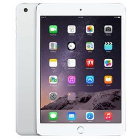 Apple iPad Mini 3 Tablet - 7.9 Inch, 128GB, 4G LTE, Silver