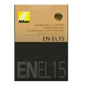 EN - EL 15 EN EL 15 Battery for Nikon Cameras
