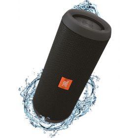 JBL Flip 3 Splashproof Portable Bluetooth Speaker - Black, JBLFLIP3BLK