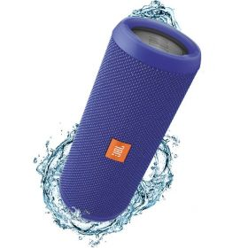JBL Flip 3 Splashproof Portable Bluetooth Speaker - Blue, JBLFLIP3BLUE