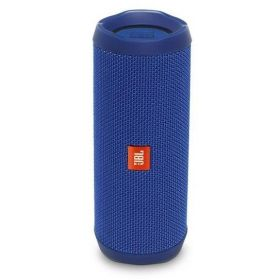 JBL Flip 4 Waterproof Portable Bluetooth speaker - Blue, JBLFLIP4BLUAM