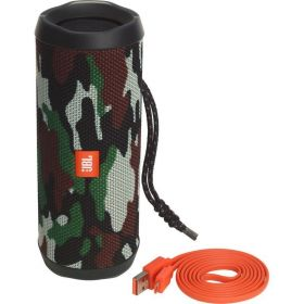 JBL Flip 4 Waterproof Portable Bluetooth Speaker - Squad, JBLFLIP4SQU