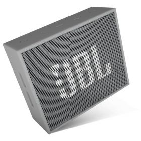 JBL GO Portable Bluetooth Speaker - Gray, JBLGOGRAY