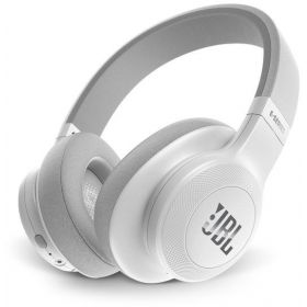 JBL On-Ear Bluetooth Headphones, White - E55BT