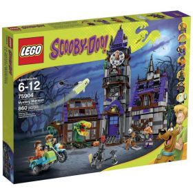 LEGO 75904 Scooby-Doo Mystery Mansion Building Toy