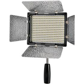 Yongnuo YN-300 II LED Camera Video Light Adjustable dimming Color Temperature 3200k-5500k for Canon Nikon DSLR with IR Remote
