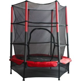 Kids Trampoline and Enclosure