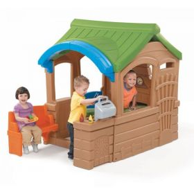 Step2 Gather & Grille Playhouse [Brown and Green, 800100]