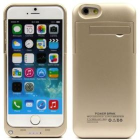 Power Bank Charge Case For iPhone 6, 3200 mAh - Gold
