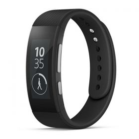 Sony SmartBand Talk SWR30 Android Smartwatch Black