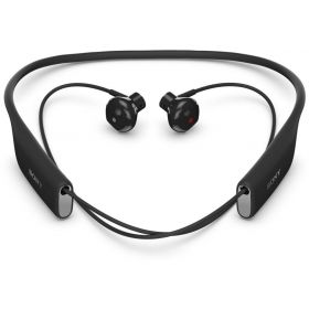 Sony SBH70 Stereo Bluetooth Water-Resistant Headset Multipoint, NFC - Black