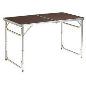 1.2M Picnic Folding Table Foldable Trestle Table for Camping Parties Outdoor Indoor