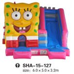 Spongebob AIr Inflation Bouncy Castle SHA-15-127