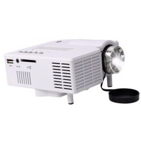 UC28 Portable Mini Projector Multimedia Cinema Digital LED Projector VGA USB SD HDMI Portable