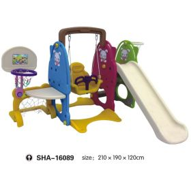 Swing & Slides with Basketball Net SHA-16089