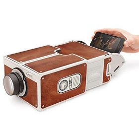 DIY Mobile Phone Projector Portable Cinema Mini Cardboard Smartphone Projector 2.0 Home Theatre For Android/ios Smartphone