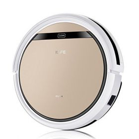 ILIFE V5s Pro Robotic Vacuum Cleaner 2 in 1 -Vacuuming and mopping