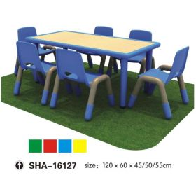 Kids Colorful Tables & Chair SHA-16127