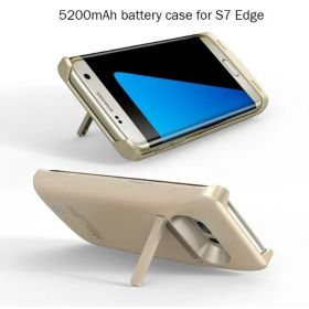 5200mah Emergency Backup External Battery Charger Case For Samsung S7 edge Power Bank Cover S7 edge